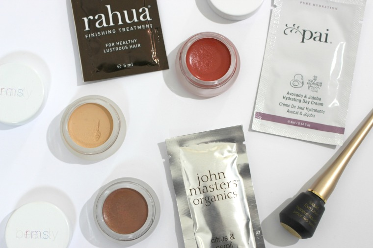 content beauty haul, green beauty, content beauty, holisticden, holisticden, non toxic, detox, healthy lifestyle, holistic lifestyle, rms, jane iredale, john masters organics, pai, rahua